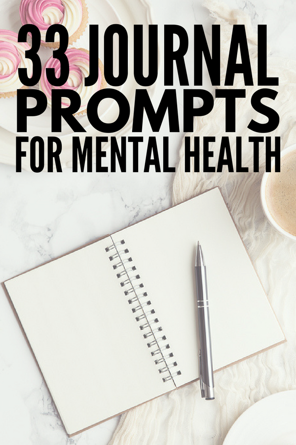 Journaling for Depression | This post is PACKED with tips and ideas to teach you how to get started with journaling for anxiety, depression, and other mental health issues. Whether you prefer to write your truths on paper, or need a guided journal (we love our bullet journal!), we'll teach you how to start a journal and keep your thoughts and creativity flowing with 33 journal prompts for depression!