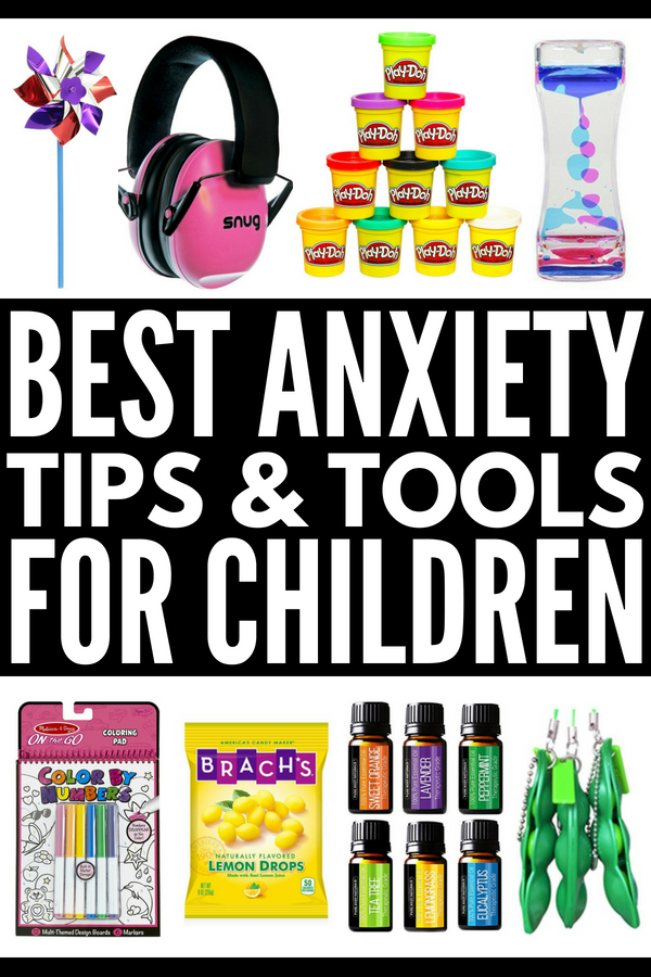 17 Tools to Include in a Calm Down Kit for Kids | Does your child suffer from anxiety that makes self-regulation difficult? Perfect for children in preschool, kindergarten, middle school, and beyond (even for teens!), we're sharing 6 coping skills and 17 calming tools to help your child with anger management and explosive feelings at home, in the classroom, and while on the go. #anxiety #mentalhealth #selfregulation #selfregulationactivities #zonesofregulation #selfcontrol #autism #calmdownkit