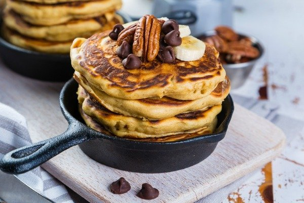 15 Keto Pancakes Recipes for Weight Loss | 15 easy, low carb, ketogenic diet approved pancake recipes using healthy ingredients like coconut flour, almond flour, cream cheese (mmmm), and bananas. We've included no egg, dairy free, and gluten free options, as well as 3 ingredient recipes to simplify your morning routine. Who said keto breakfast recipes have to be boring?! #keto #ketodiet #ketosis #ketogenicdiet #ketorecipes #ketopancakes #cleaneating #weightloss #lowcarb