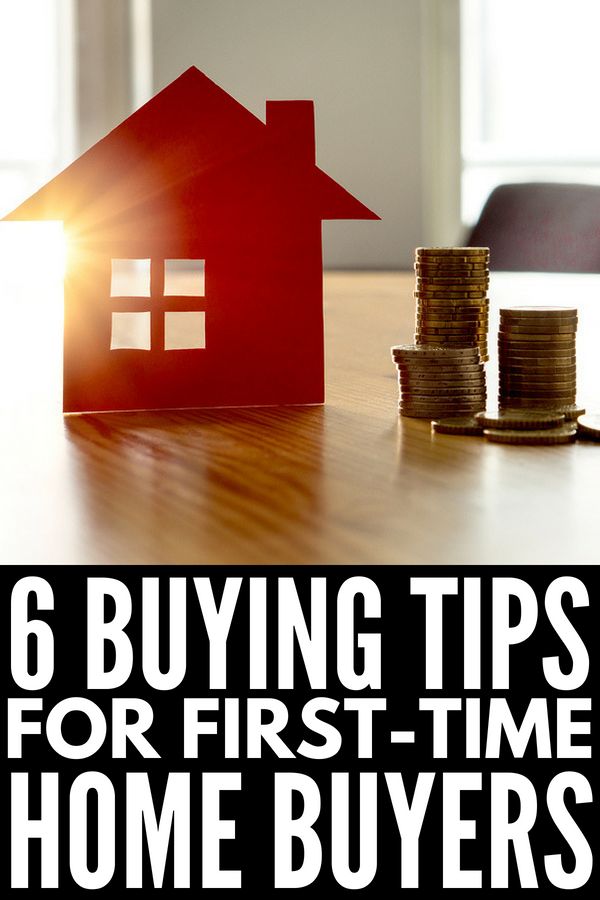 6 Tips for First-Time Home Buyers | Buying a new home? From creating a realistic (and affordable) budget, to creating a wish list check list, to finding a reputable real estate agent, we're sharing 6 of our best tips to help you buy the home of your dreams while also saving money and unnecessary heartache. #realestate #homebuyer #firsttimehomebuyer #mortgage