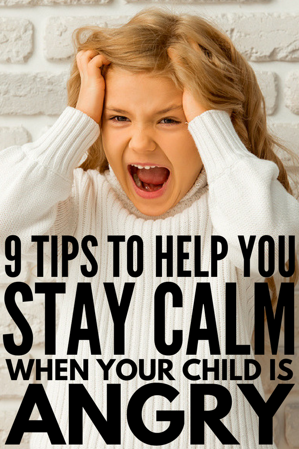 How to Stay Calm When Your Child is Yelling | Want to know how to stay calm as a parent, even when your children are out of control? We're sharing 9 tips for moms and dads who want to know how to be more patient, calm, and present with their kids. Whether your child is just misbehaving, or struggles with developmental delays like ADHD, autism, sensory processing disorder, and/or ODD, these behavior management tips will help!