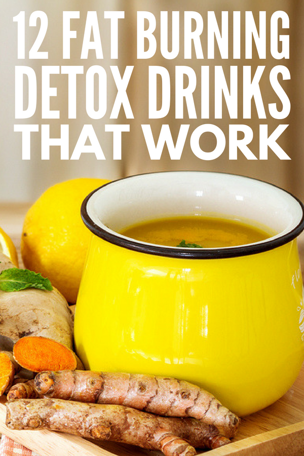 12 Weight Loss Drinks that Work! | If you're trying to lose belly fat fast without dieting, these fat burning drinks, teas, and meal replacement shakes are just what you need. With 12 easy to make weight loss drink recipes, you'll be amazed at the effects simple ingredients like apple cider vinegar, ginger, chai seeds, turmeric, dandelion root, garcinia cambogia (and more!) can have on your health and your waist line! #weightlossdrinks #fatburningdrinks #detoxdrinks #flatbellydrinks #bellyfat