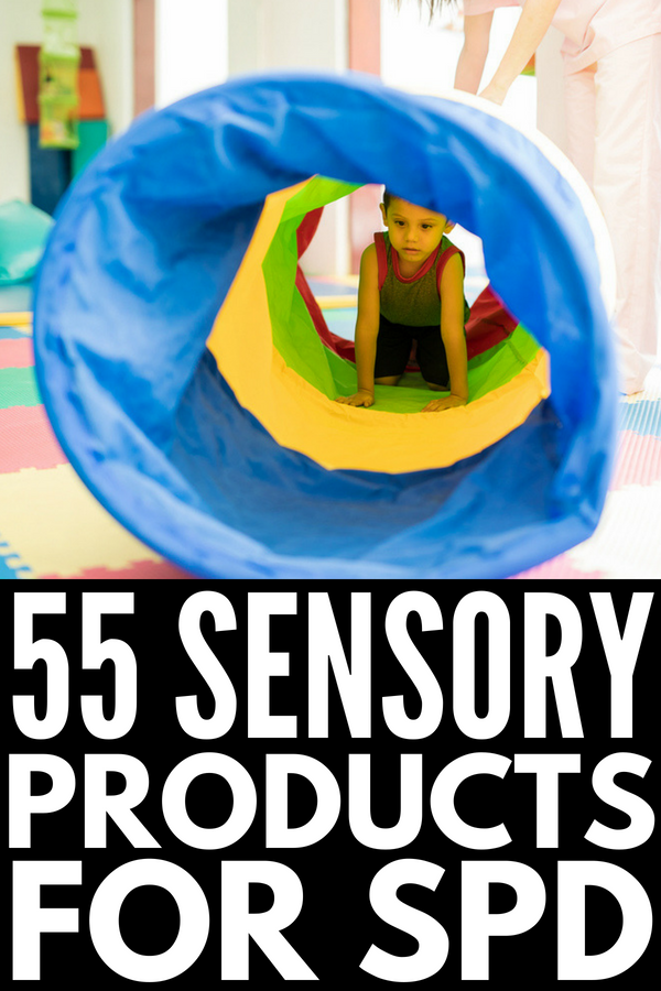 Sensory Room Equipment Ideas | If you're looking for sensory room ideas to help kids with sensory processing disorder and/or autism, this post will teach you how to make a sensory room on a budget. With 55 sensory toys and sensory products to help develop the proprioceptive, vestibular, tactile, auditory, oral, and visual systems and great calming strategies, these sensory activities won't disappoint! #autism #sensoryprocessingdisoder #sensoryroom #sensoryactivities #sensory #spd #sensoryplay