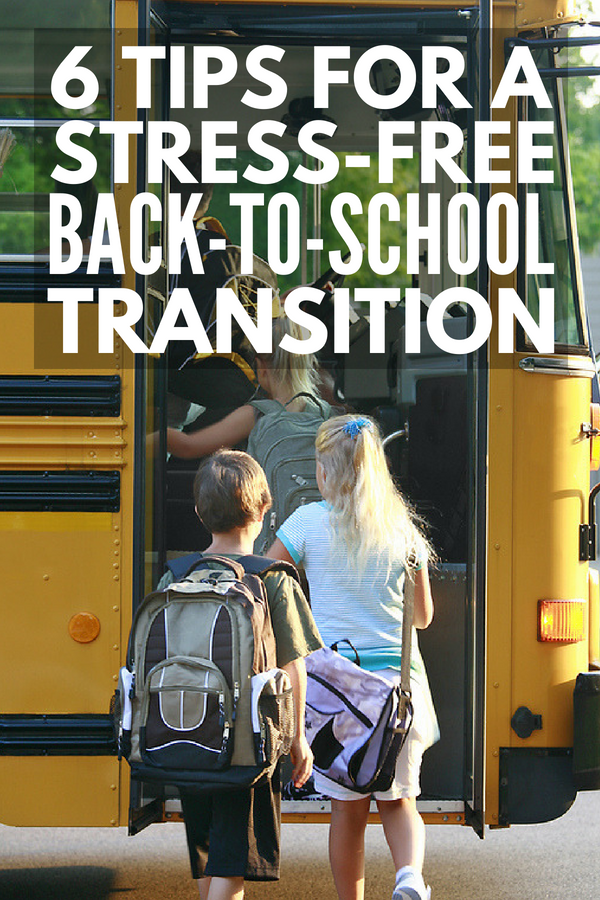 Back-to-School Tips for Busy Moms | Whether your kids are just starting preschool or kindergarten, or are making the leap from middle school to high school, the first day of school can be STRESSFUL. We're sharing 6 parenting tips to simplify your morning routine so you and your kids wake up feeling in control instead of anxious each day. Tip 6 is BRILLIANT for avoiding after school meltdowns! #WelchsFruitSnacks #backtoschool #backtoschooltips #morningroutine #momtips #parenting #parenting101