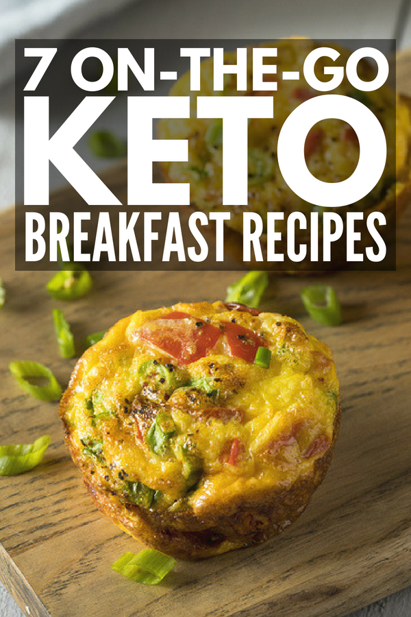 7 On The Go Keto Breakfast Recipes | If you're on the ketogenic diet and are looking for easy low carb make ahead breakfast ideas to make your mornings easier, this collection of keto recipes are fast and filling! From peanut butter fat bombs and breakfast cookies, to egg breakfast muffins and keto granola, to eggless no bake protein bites, these options are a quick and delicious way to lose weight! #keto #lowcarb #ketogenic #ketodiet #ketorecipes #ketobreakfast #lowcarbbreakfast #LCHF