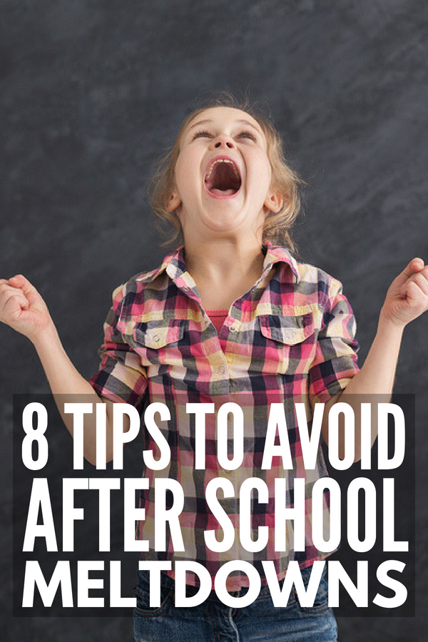 If your kids are prone to after school temper tantrums, this post explains why they occur, how to identify triggers, and the best coping strategies to prevent an after school emotional meltdown. Perfect for kids of all ages and abilities, included special needs kids with autism, sensory processing disorder, and ADHD, these parenting tips will also help your children with self-control and self-regulation! #tantrums #meltdowns #backtoschool #autism #SPD #ADHD #specialneeds #parenting #parenting101