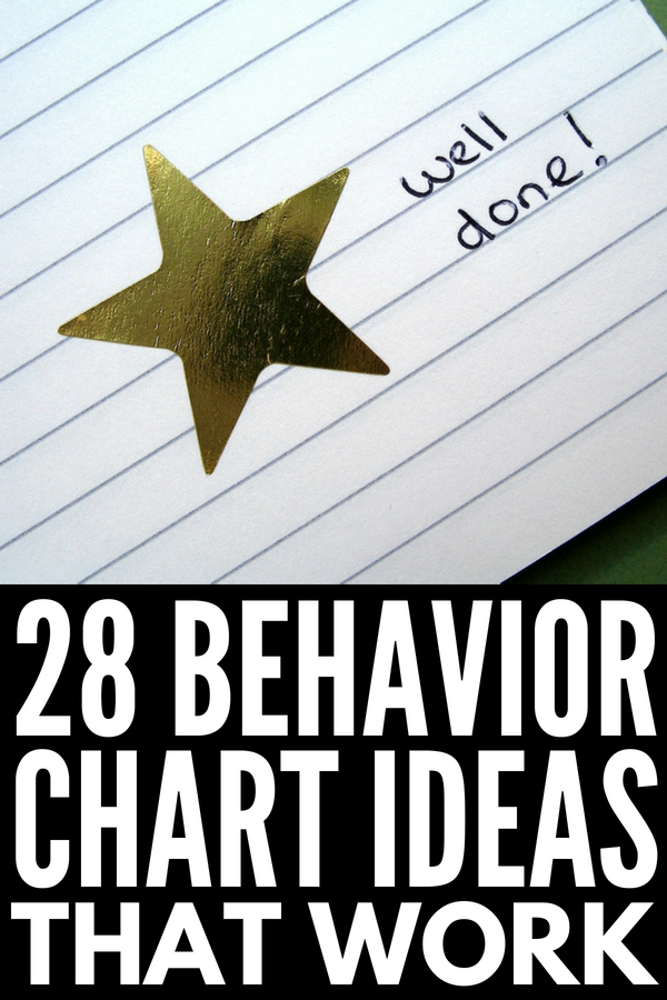 Good Behavior Charts for Kids | Looking for the best reward system for toddlers, preschoolers, kindergarteners, kids in first grade, and beyond? From our best tips for creating sticker charts, to our fave free printable behavior charts, to reward chart ideas you can use for just about anything, these DIY ideas will inspire you to replace punishments and consequences with positive reinforcement! #behaviorcharts #rewardsystem #behaviormanagement #chorechart #positiveparenting #positivediscipline