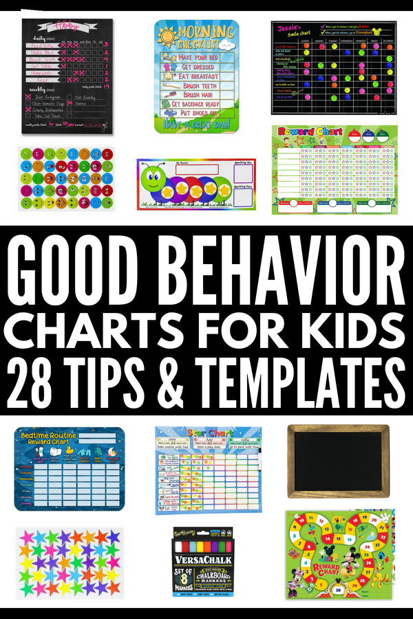 Good Behavior Charts For Kids Looking The Best Reward System Toddlers Preschoolers