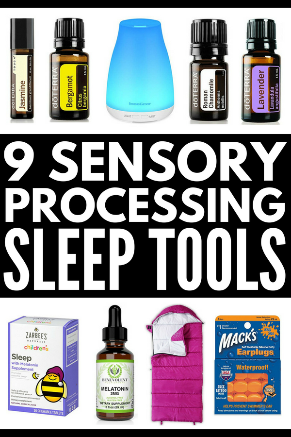 Sensory Processing Disorder and Sleep | Attention parents! If you're looking for sleep tips and sleep products for kids with special needs like autism, SPD, and ADHD, we've got 19 sleep strategies and sensory products for children that work. From weighted blankets and melatonin, to essential oils and bed tents, these ideas are equal parts practical and effective! #sleep #kidssleep #sensoryprocessingdisorder #SPD #autism #ADHD #specialneeds #sensorytips