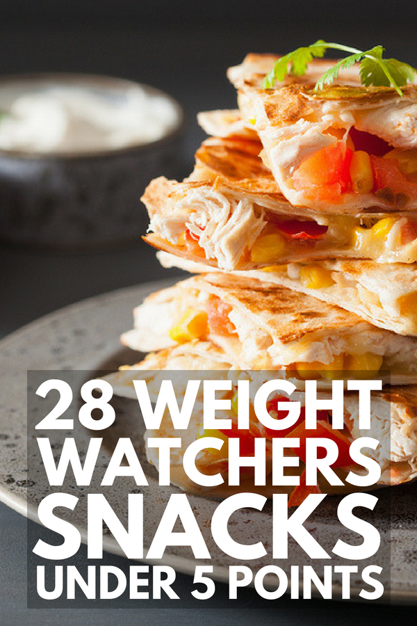 28 Weight Watchers Snacks with Points for Weight Loss | Whether you're on the the Smartpoints or Freestyle version of Weight Watchers, you need quick & easy on-the-go snack ideas for work & school to keep you feeling full when hunger strikes. We've got 28 healthy ideas, including store bought zero point snack ideas & sweet, savory & skinny desserts under 5 Freestyle points. #weightwatchers #weightwatchersfreestyle #weightwatchersfreestyle #weightwatcherssnacks #zeropointsnacks #weightloss
