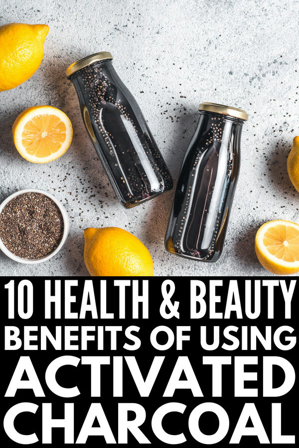 How to Use Activated Charcoal | Whether you buy it as a powder or as pills, activated charcoal has many health benefits and can be used to make natural beauty products as well. It's one of many natural remedies for stomach upset, gas and bloating, ear infections, and sore throats, helps whiten teeth, and can be used on the face as a natural acne remedy. It really works! Click for 10 activated charcoal uses! #naturalremedies #activatedcharcoal #acne #homeremedies