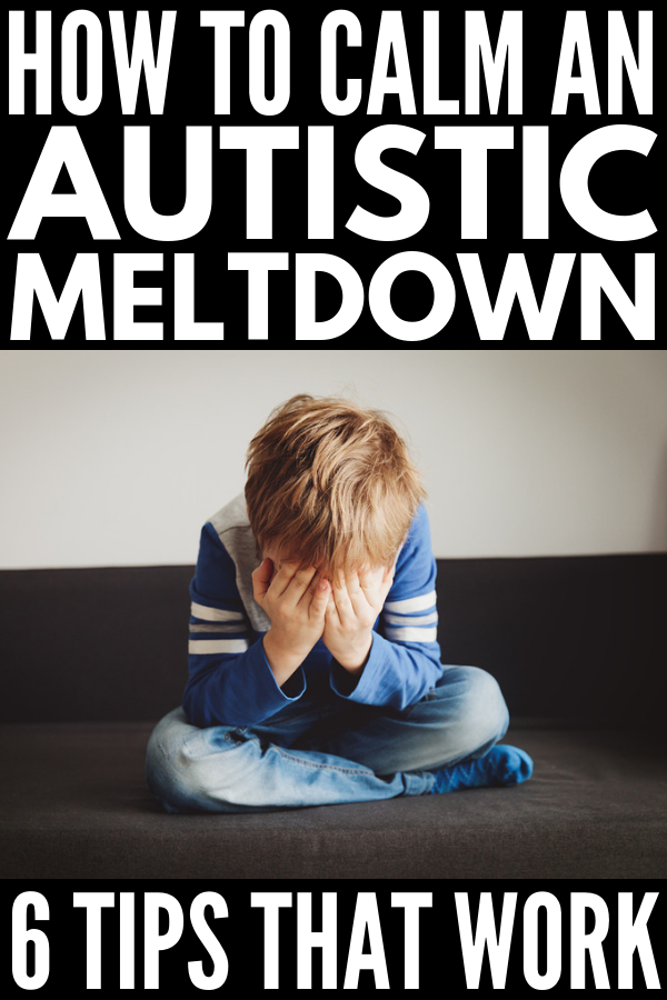 How to Calm an Autistic Child | Perfect for kids with autism and sensory processing disorder, this collection of 31 strategies to help calm an autistic meltdown at home and in the classroom will teach you prevention techniques, tips for shortening the length and intensity of sensory meltdowns, as well as our favorite self-regulation and calming activities to bring kids (and parents!) back to a state of zen. #autism #sensoryprocessing #autisticmeltdowns #specialneedsparenting #specialeducation