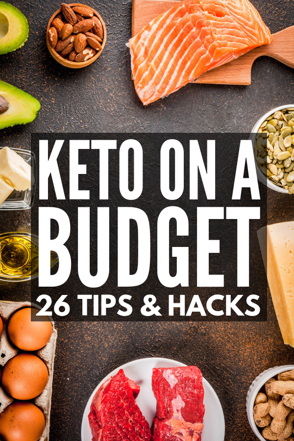 Keto on a Budget | From creating killer shopping lists, to planning your meals ahead of time, to genius products to help make meal prepping your favorite breakfast, lunch, and dinner recipes a cinch, to our favorite keto-friendly snacks to feed on-the-go hunger without breaking your diet, we're sharing our best keto tips and tricks to make losing weight easier than ever while still saving money. #keto #ketodiet #ketogenicdiet #ketomealprep #mealprep #lowcarb #LCHF #ketpmeals #ketoonabudget