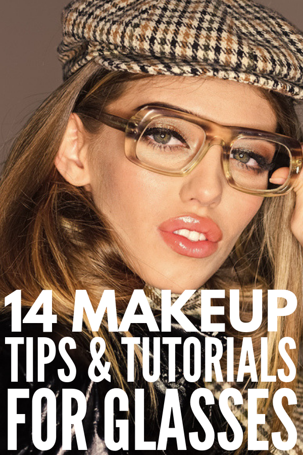 Makeup with Glasses | Want to know how to wear makeup for glasses? Whether you're looking for a simple everyday look, natural bridal ideas for your wedding, something dramatic for prom, or a glam date night style, we're sharing 9 makeup application tips and 5 step-by-step makeup tutorials to teach you how to make your eyes POP! #makeup #makeuplooks #makeupotutorial #makeuptips #makeupforglasses #makeupwithglasses #eyemakeup #eyemakeuptutorials #eyemakeupforglasses