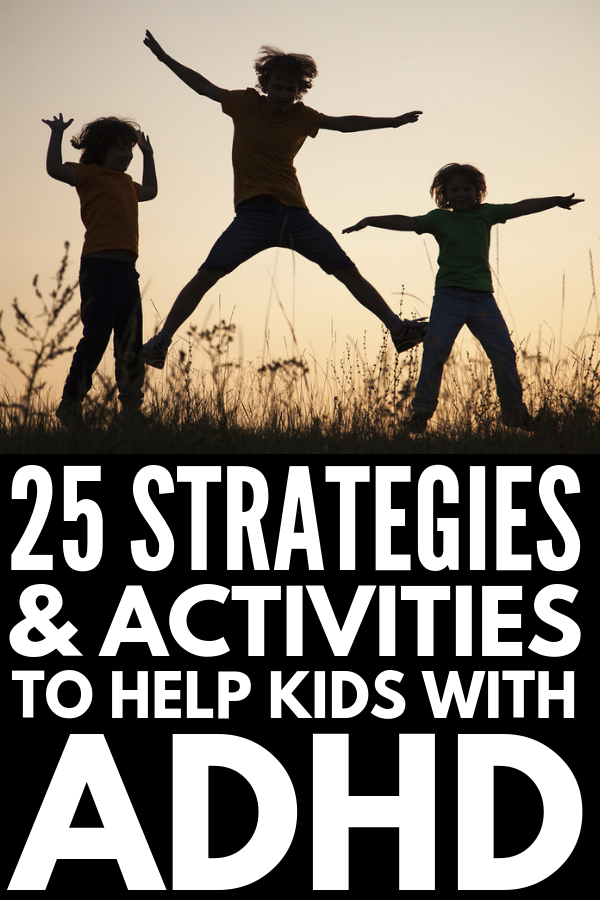 19 Activities for Kids with ADHD | If you're looking for fun games and activities to help kids with impulse control and anger management while also teaching them important coping skills, like how to calm down before their emotions get out of hand, these gross motor activities are a great place to start. Suitable for use at home, in therapy, and in the classroom, these tips and ideas are perfect for parents and teachers. #ADHD #ADHDstrategies #ADHDactivities #ADHDkids #specialneedskids