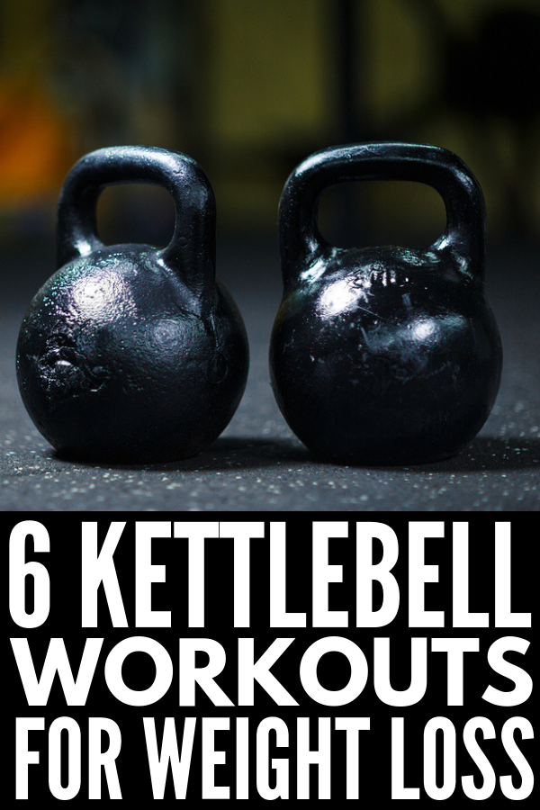 6 Full Body Kettlebell Workouts that Tighten and Tone | If you're looking for strength training kettlebell exercises you can do at the gym or at home, these fat burning workouts will take your fitness regime to the next level! Perfect for women and for men, we're sharing 6 exercise videos for ultimate weight loss success. #kettlebell #kettlebellworkout #kettlebelltraining #kettlebellcircuit #kettlebellexercises