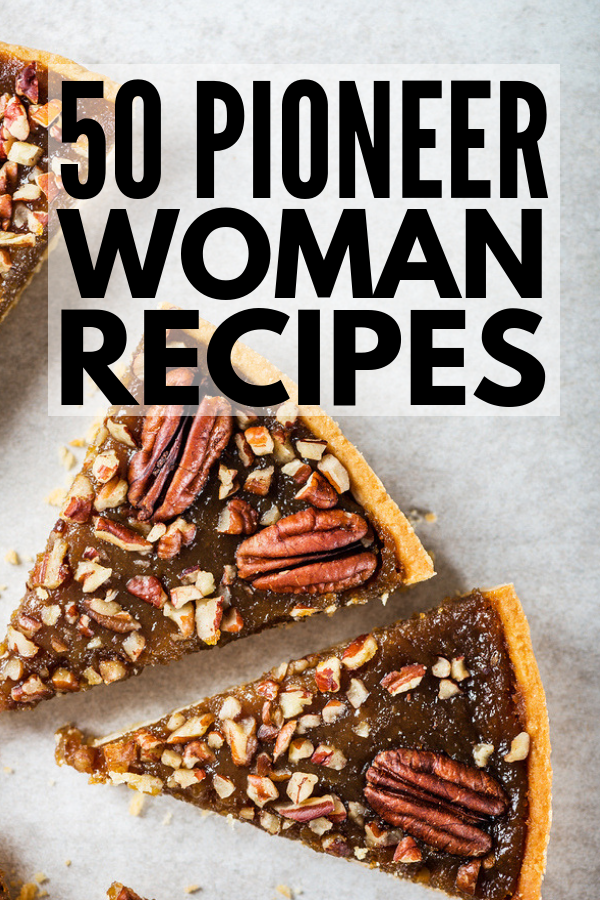 50 Pioneer Woman Recipes for Every Occasion | Looking for simple soup, casserole, or pasta dishes you can pop in the freezer? Need chicken, beef, pork, or meatloaf dinner inspiration? In the mood for bread, cookies, or cake? This collection of breakfast, lunch, dinner, dessert, and snack recipes by Ree Drummond takes comfort food to the next level. The cinnamon rolls are my favorite! #pioneerwoman #pioneerwomanrecipes #comfortfood #comfortfoodrecipes