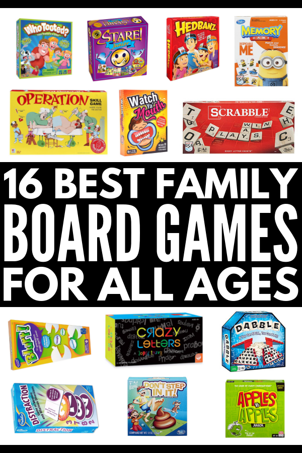 Best Family Board Games | If you're the mom (or dad) of young kids and need family game night ideas to help you spend quality time together on weekends and holidays, this collection of educational ideas are equal parts awesome and hilarious. Perfect for children (and teens!) of all ages, these ideas make great gifts the whole family will love and double as fantastic party ideas for any occasion. #familygamenight #boardgames #boardgamesforkids #kidsgames #educationaltoys