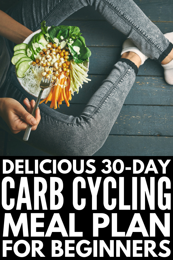 The Carb Cycling Diet for Beginners | If you want to know what carb cycling is, what foods you should eat and avoid while on the carb cycling diet, why it's great for weight loss for women, and the best meal plan recipes for beginners, we're sharing all of this and more! #carbcycling #carbcyclingforweightloss #carbmealplan