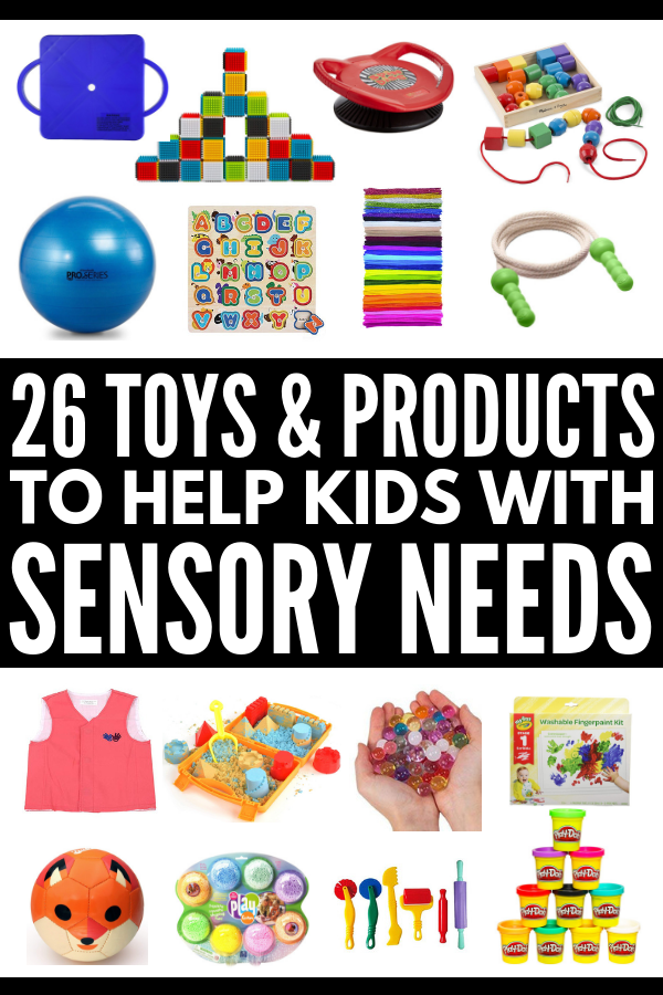 26 Sensory Processing Disorder Activities | Looking for portable games, activities, and toys to support your child's sensory needs at home, in therapy and in the classroom? Perfect for toddlers, school-aged kids, tweens and teens, these ideas will help parents, special needs teachers, and therapists of children with SPD and autism with exposure therapy in a fun and non-threatening way. #sensoryprocessingdisorder #sensoryprocessingdisorderactivities #SPD #specialneeds #specialneedsactivities