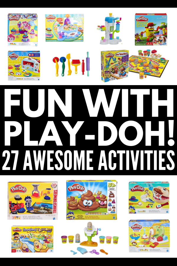 27 Play-Doh Games or Kids | Play-doh mats are a great way to teach kids their numbers, letters, and shapes, and there are so many free printables for different themes, like the weather, the seasons, and various holidays like Christmas, Valentine's Day and Easter. They also help develop a child's fine motor skills! Check out our favorite play-doh activities for fun in the classroom and at home. #playdoh #playdohactivities #playdough #playdoughrecipe #playdoughactivities #finemotoractivities