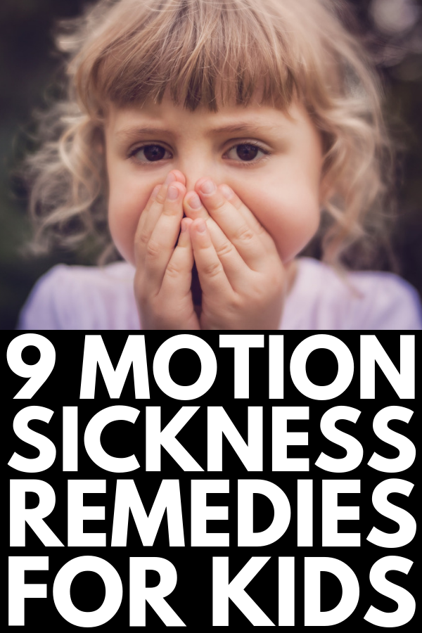 9 Motion Sickness Remedies for Kids | If travel on planes, in cars on long road trips, or on a cruise ship makes your child feel queasy and you need ways to prevent motion sickness, nausea, and vomiting, this collection of tips and natural nausea relief remedies is for you! From ginger tea and candies, to essential oils, to the best places to sit (and the travel activities to avoid!), these ideas will help make family vacations fun again! #motionsickness #nausearemedies #nausea #essentialoils