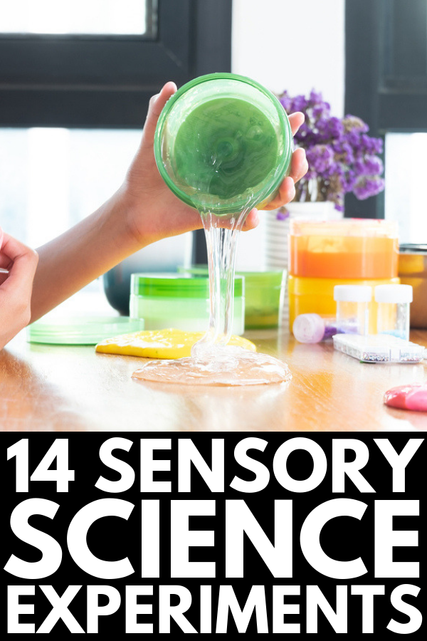27 Science Experiments for Kids | Whether you're looking for sensory science experiments for kids to do at home, or science project ideas for kids in elementary school to teach kids about the scientific method and chemical reactions, this collection of simple, easy, and fun STEM activities and ideas will inspire you! #sensoryscience #scienceexperimentskids #scienceexperimentsforkids #stemactivities