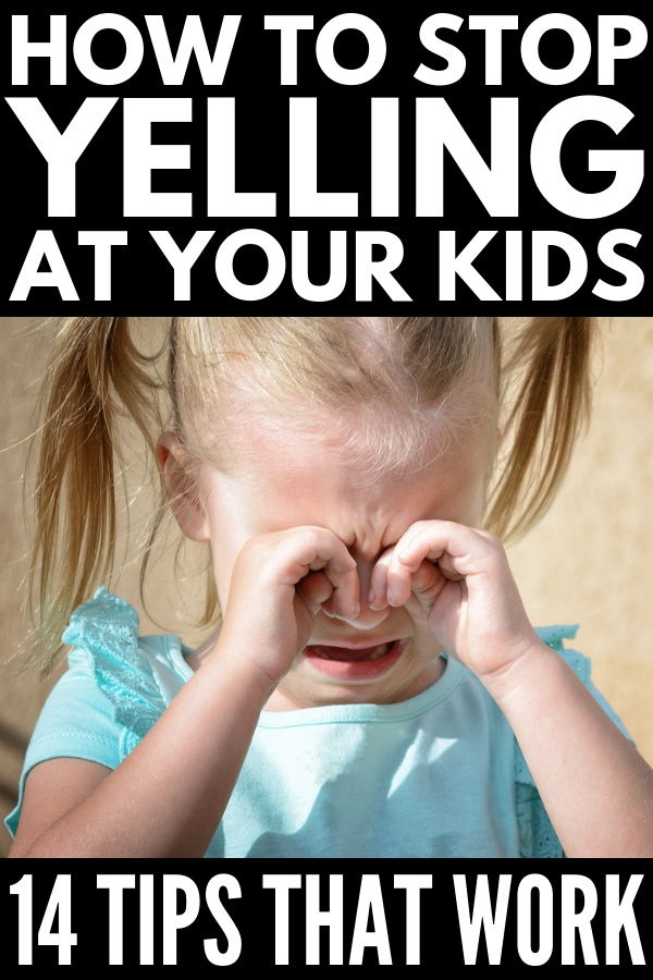 How to Discipline a Child without Yelling | Whether you're a mom parenting toddlers or kids in their tweens and teens, we're sharing 14 simple yet effective tips to teach you how to get kids to listen the first time without yelling. These simple ideas are designed to help parents encourage positive behavior at home and at school but can also be used by teachers in the classroom! #positivediscipline #positiveparenting #positiveparenting