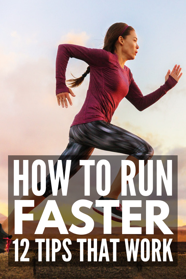 12 Ways to Boost Your Running Endurance | Whether you run for weight loss, or you're training for a marathon, one thing is for certain: building your endurance is key to crushing your goals. Perfect for beginning runners and old-time pros, this collection of running tips, breathing techniques, pre-running foods, HIIT workouts, and strength training exercises will help boost your running stamina, helping you run faster and longer! #runningtips #runfaster #runningendurance #runningstamina