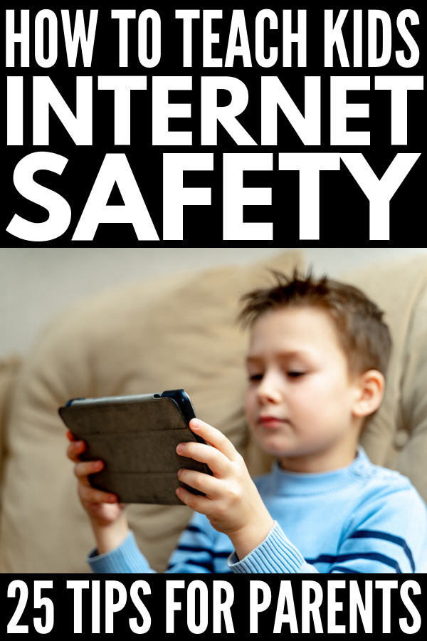 Internet Safety for Kids | Looking for tools to teach children about internet safety? With 25 lessons to discuss, a fabulous interactive online game, a parental control app, and much more, these resources are perfect for parents and teachers alike. Whether your child is only allowed online time on your phone, or has his/her own smartphone or tablet with social media accounts enabled, it's never too early to start the conversation! #InternetSafety #SaferInternetDay #BeInternetAwesome #Sponsored