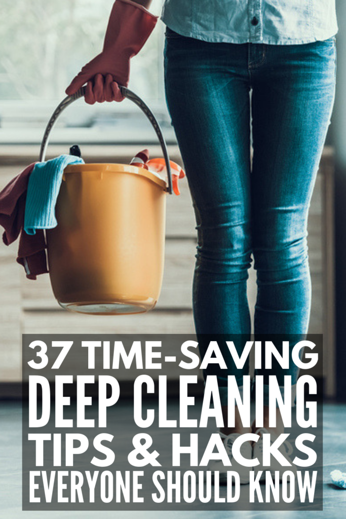 37 Deep Cleaning Hacks You Need to Know | If you're ready to get everything in your life in order, these tips and tricks are about to become your new BFF! From organizing your bedroom closets, to sanitizing your bathroom, to figuring out how to remove stains from your carpet, to scrubbing every surface in your kitchen, these DIY cleaning hacks will teach you how to clean everything with baking soda, hydrogen peroxide, white vinegar, and more! #deepcleaning #cleaninghacks #howtodeepclean