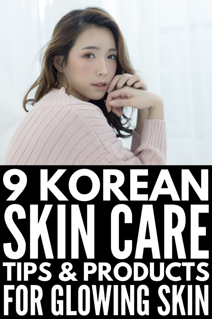 9 Korean Skincare Routine Tips | If you want flawless skin, these Korean skincare secrets will teach you which products to invest in (hello, Soko Glam!), a great step by step night routine, and the beauty secrets you should make time for in the mornings to combat oily and/or dry skin, tips for sensitive and acne prone skin, and anti-aging hacks to giving you natural skin that glows. #korenskincare #koreanskincareroutine #koreanskincaresecrets