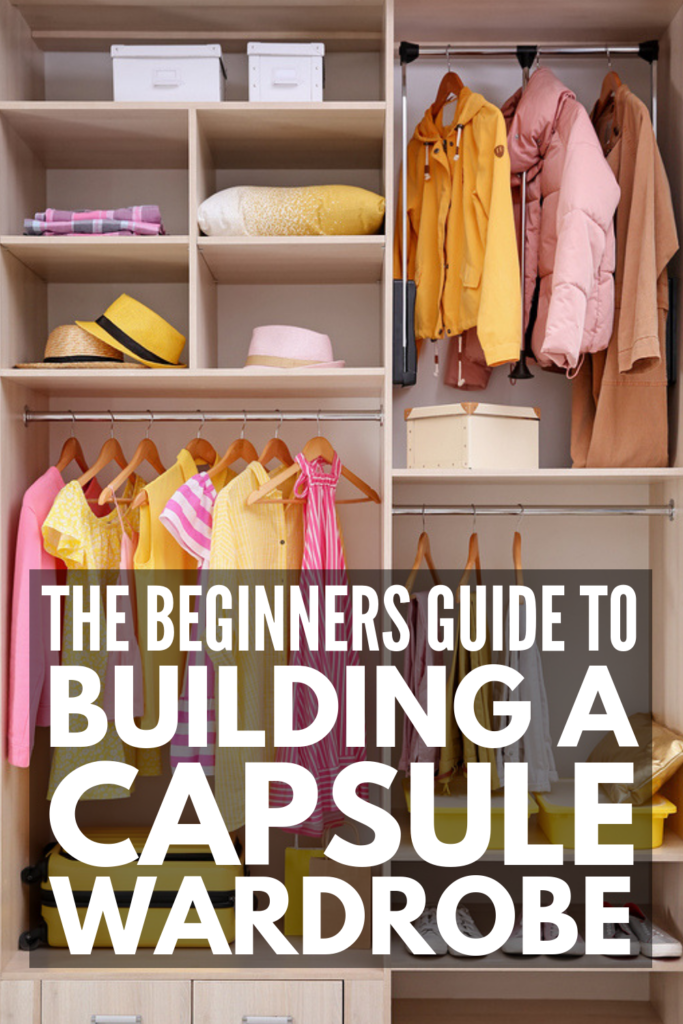 How to Build a Capsule Wardrobe for Beginners | If you want a minimalist wardrobe and need step-by-step instructions to help you get started, this post has it all, including a checklist of capsule wardrobe essentials for every season and occasion! Learn how to curate the best minimalist fashion essentials for work, casual days and special occasions, for summer, fall, spring, and winter - and everything in between! #capsulewardrobe #minimalistwardrobe