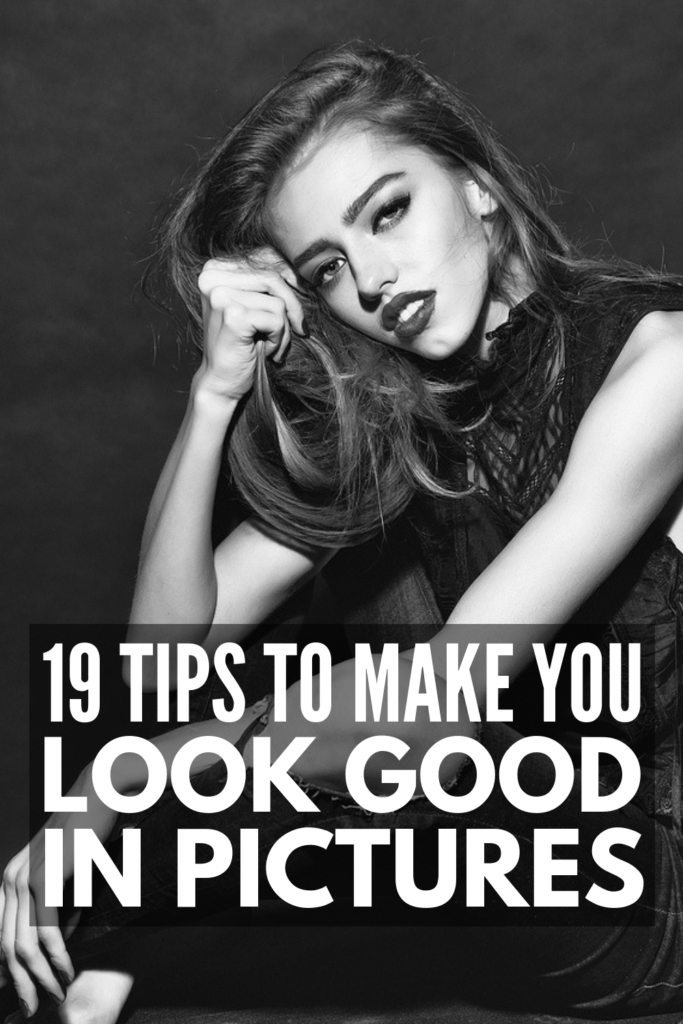 How to Look Good in Pictures | Want to know the secret to looking good in photos and taking the best portraits and selfies? From drawing attention to your eyes, to wearing the right makeup and styling your hair correctly, to figuring out the best poses and smile for your face and body shape, these tips will teach you the basics and beyond. While lighting is definitely important for Instagram worthy photos, these simple tips will transform your look! #photogenic #phototips #howtotakeaselfie