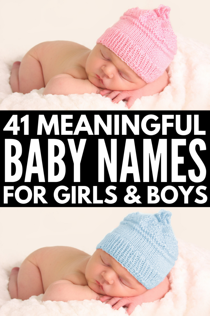 41 Uncommon and Meaningful Baby Names to Consider