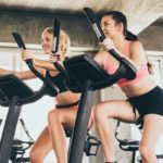 4 Stationary Bike Workouts for Weight Loss | If you're looking for an indoor bike workout for beginners to get your heart rate up and help you lose weight, we're sharing 4 of our favorites you can stream for free at home or at the gym. Whether you have an upright or recumbent bike, you can enjoy the fat burning benefits of these HIIT workouts without splurging on a Pelaton. Find out the many benefits of indoor cycling and commit to a healthier lifestyle TODAY. #spinworkout #bikeworkout