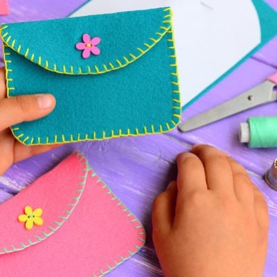 Crafting at Home: 32 Super Fun Felt Projects for Kids