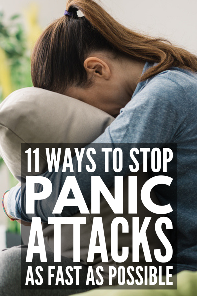 How to Stop a Panic Attack Fast | Looking for tips to stop the thoughts, feelings, and physical symptoms of a panic attack? We're sharing 11 techniques that help. While some people experience panic attacks in response to stress or as a result of PTSD, others cannot predict when their symptoms will occur, leading to panic disorder and other mental health challenges. Click for our best coping strategies and remember: never be afraid to ask for help! #panicattacks #anxiety #mentalhealth