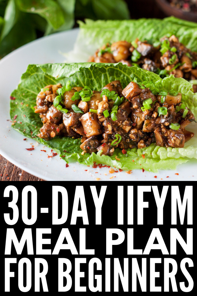 30-Day IIFYM Diet Plan for Beginners   If you're looking for a clean eating plan that will help you lose weight without counting calories and depriving yourself of the foods you love, cooking macro friendly recipes is key. We've created a 30-day IIFYM kickstart diet with 30 delicious IIFYM recipes each for breakfast, lunch, dinner, and snacks to help you learn macros for beginners for weight loss that lasts! #macrofriendlyrecipes #IIFYM #IIFYMrecipes