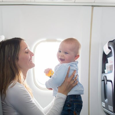 Baby's First Flight: 27 Sanity-Saving Tips for Flying with a Baby