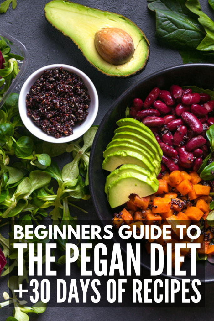 The Pegan Diet for Beginners | New to the Pegan Diet? We're sharing all the rules to help you get started, the benefits of the Pegan Diet, a list of foods you can and cannot eat, as well as a 30-day menu plan with delicious breakfast, lunch, dinner, snack, and dessert recipes that will keep you feeling full. Clean eating has never tasted so good! #peganrecipes #peganmealplan