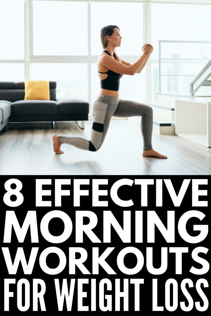 8 Best Morning Workouts for Weight Loss | If you're looking for fat burning workouts you can do at home or at the gym, these workouts for beginners will help you wake up and reboot, and help take the guess work out of losing weight. Get your body (and life) in shape with our tips to stay motivated, as well as these awesome exercise routines that tighten and tone! #morningworkoutroutine #athomeworkout #quickmorningworkout