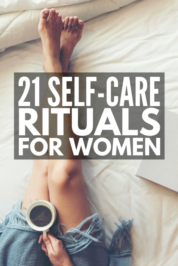 21 Self-Care Rituals for Women | From slow-paced morning routines to indulgent nighttime beauty regimes, self-care can be as simple or complicated as you want it to be. If you're looking for tips to find time for your emotional and physical health, as well as self-care ideas you can enjoy on the daily, this post is your ticket to a happy life that's balanced! #selfcarerituals #selfcareroutine #selfcareideas #selfcareforwomen