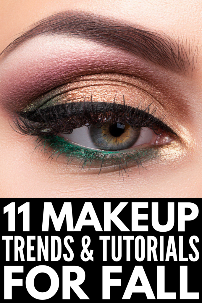 11 Fall Makeup Trends & Tutorials | I always love seeing the fall makeup looks in Harpers Bazaar, and this year did not disappoint! If you want to know what's in style in 2019 on the beauty front, we're sharing the best products, tips, and tutorials to help you look on trend this season. #fallmakeup #fallmakeuptrends #fallmakeuplooks