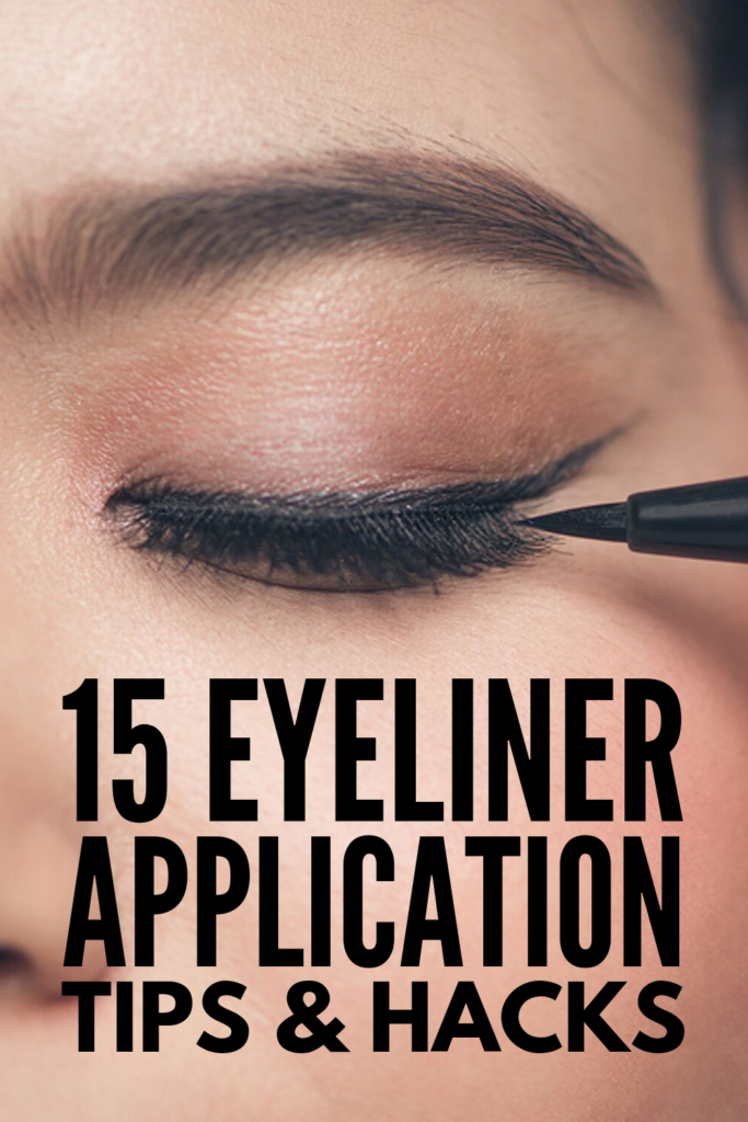 15 Eyeliner Hacks for Beginners | Learn how to apply winged eyeliner – and how to apply liquid eyeliner – with this collection of life-changing makeup tricks! You've probably already tried the tape, business card, and bobby pin tricks, and we're excited to share so many other simple yet transformative makeup hacks to help you get the perfect cat eye every single time. Whether you prefer pencil, gel, or liquid liner, these tips are for you! #liquideyeliner #eyelinertutorials #howtoapplyeyeliner