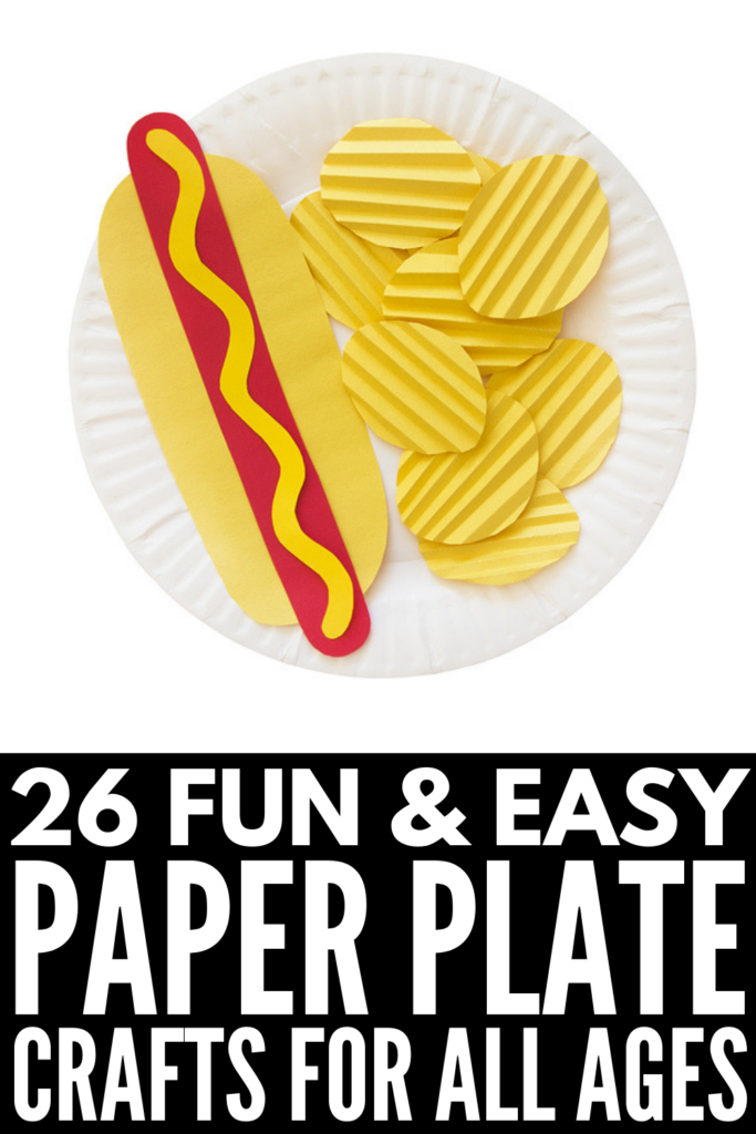 26 Paper Plate Crafts for Kids | If you're looking for easy art projects for toddlers, kids in preschool and kindergarten, and elementary aged children, these crafts develop fine motor skills, hand eye coordination, scissor skills, and more. With fall, winter, spring, and summer crafts, as well as holiday inspiration for Halloween, Christmas, Valentine's Day, and Easter, there are tons of art projects here for every age and stage! #paperplatecrafts #upcyclecrafts