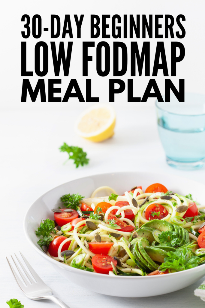 30-Day Low FODMAP Meal Plan for Beginners | If you're looking for a simple guide to help you get started – and stay motivated – with the Low FODMAP diet, we've curated 30 days of breakfast, lunch, dinner, snack, and dessert recipes. With 120 easy Low FODMAP recipes to choose from, there are ideas to suit every palette and dietary need, including gluten free, vegetarian, and vegan recipes. We've even thrown in some crockpot & instant pot ideas for added convenience! #lowfodmap #lowfodmaprecipes