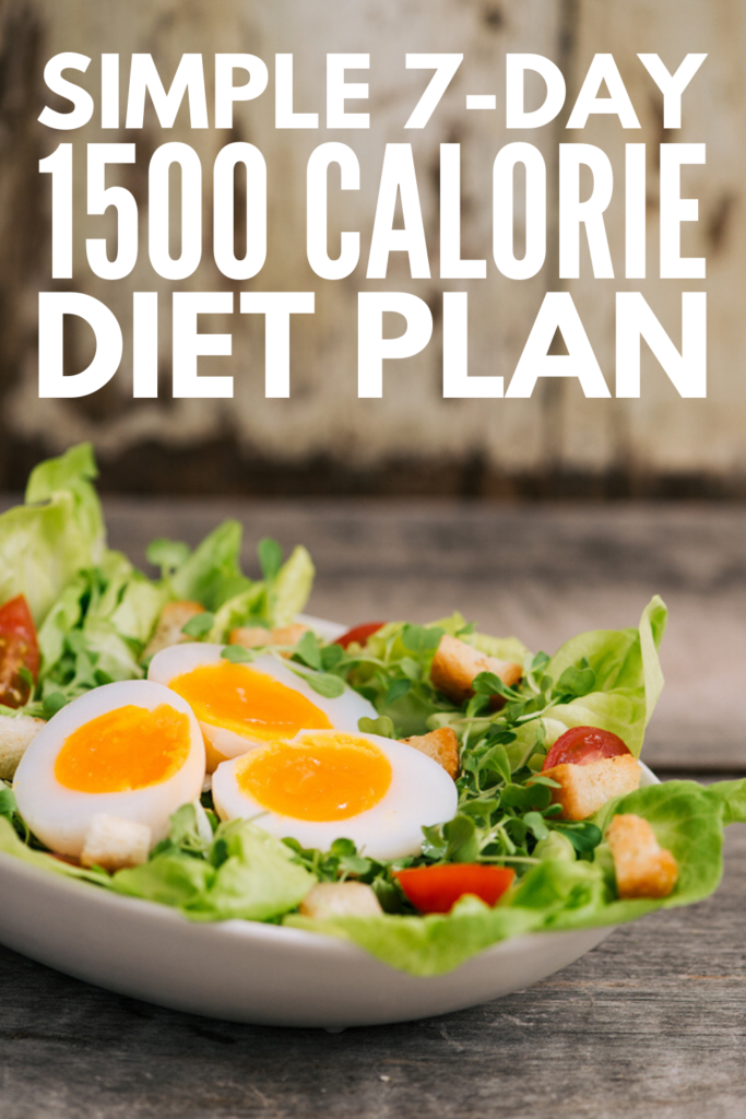 Low Carb 1500 Calorie Diet Plan: 7-Day Meal Plan For