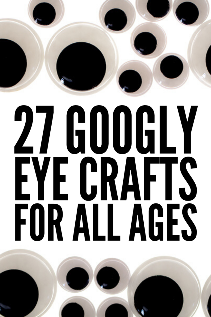27 DIY Googly Eye Crafts for Kids | If you're looking for simple, easy, and fun ways to get creative with your kids, these awesome googly eye activities will NOT disappoint! We've included ideas for all ages - toddlers, kids in preschool and kindergarten, and elementary school aged children. From creepy spiders and googly eyed monsters that are perfect for Halloween, to peacocks, bumblebees, lions, and an adorable hippopotamus, these make great keepsakes! #googlyeyes #kidscrafts