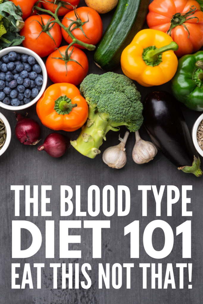 Blood Type Diet for Weight Loss | If you want to lose weight and you're looking for a clean eating meal plan that's tailored to you and your body type, the blood type diet might be for you. But, what is the blood type diet?! We're sharing all the facts for A, for B, for O, and for AB blood types, including foods to eat, foods to avoid, and the benefits of this approach to your health. #bloodtypediet #naturalremedies #fatburn #loseweight #antiinflammatorydiet
